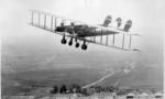 Old plane  landscape
