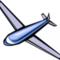 Plane glider 117513 tns