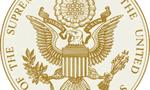 Us supreme court seal  landscape