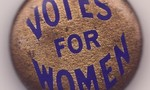 Votes for women pin tiny landscape