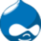 Drupal logo small square