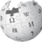 Wikipedia logo small square