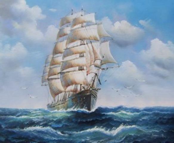 Francisco Pizarros Ship European Explorations ...