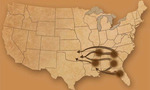 Us native american displacement migration map tiny landscape