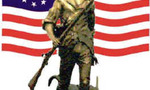 Militiaw flag  landscape