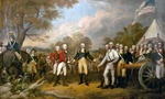 Surrender of general burgoyne 1 tiny landscape
