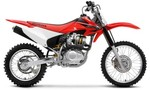 Honda crf 150 f off road dirt bike 2008 tiny landscape
