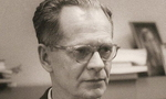 B.f. skinner at harvard circa 1950 tiny landscape
