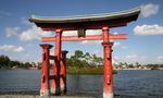 Disny japanese arch  landscape