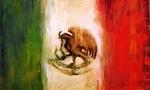 Bandera de mexico  landscape
