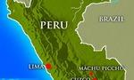 Peru reisemap  landscape
