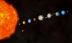Solar system ill  landscape