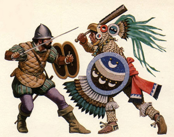 the invasion of the aztecs by Transcript of spanish conquest of the aztec empire aztec society before the spanish: the term aztecs refers to 3 separate groups the quick spanish invasion.