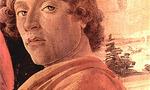 Sandro botticelli self portrait  landscape