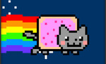 041911 nyan pop tart cat t tiny landscape
