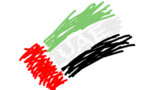 Uae flag 1 by xuae tiny landscape