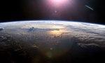 Sunset space pacific ocean   landscape