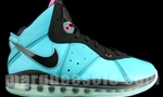 Nike lebron james 8 pre heat tiny landscape