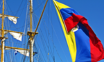 220px colombian flag on arc gloria tiny landscape