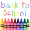 Back to school banner small square