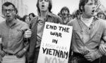 Vietnam war protest  landscape