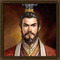 Three kingdoms portrait small square