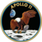 201px apollo 11 insignia small square