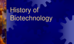 History of biotechnology tiny landscape