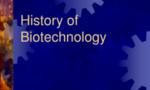 History of biotechnology  landscape