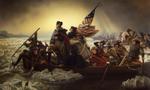 Washington crossing the delaware  landscape