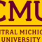 Cmu wordmark maroon on gold small square