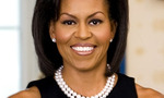 Michelle obama official portrait headshot tiny landscape