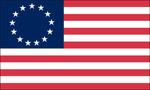 First american flag   landscape