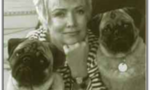 Audrey w pugs  landscape