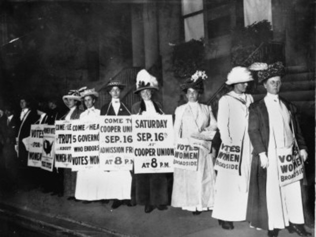 the fight for women s suffrage 1848 1920 Waterloo the fight for women's rights began in new york state in waterloo, on july 13, 1848, a tea party at the home of activist jane hunt became the catalyst for the women's rights movement.