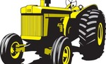 Tractor image  landscape
