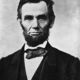 220px abraham lincoln head on shoulders photo portrait