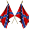 Confederate flag gif small square