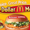 Mcdonalds dollar small square