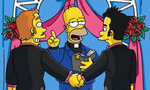 Simpsons gay marriage tiny landscape