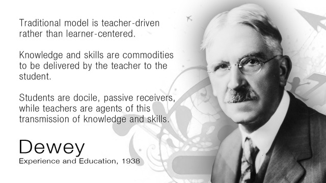 john dewey role of the teacher essay Keywords: my pedagogic creed essay, john dewey essay dewey) for dewey, a teacher's job was more about being a facilitator to the students.