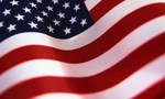 American flag wallpaper tiny landscape