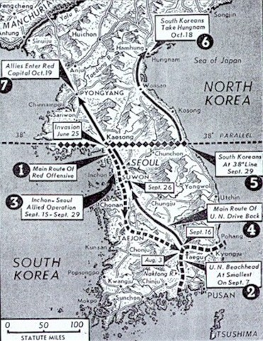 Korean war dates in Brisbane