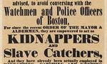 Slave kidnap post 1851 boston  landscape