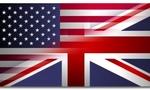England usa flag  landscape