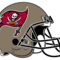 Tampa bay buccaneers helmet small square