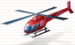 Helicopter icon  landscape
