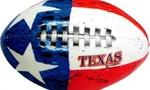 Texas kids texas flag football  landscape