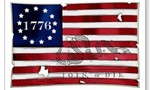 1776 american flag  landscape