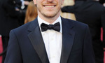 Author brian selznick who wrote the book the invention of hugo cabret upon which martin scorseses hugo is based walks the red carpet at the academy awards.  landscape